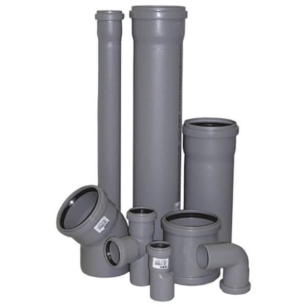 Трубы ПП и фасонные части для внутреннего водопровода